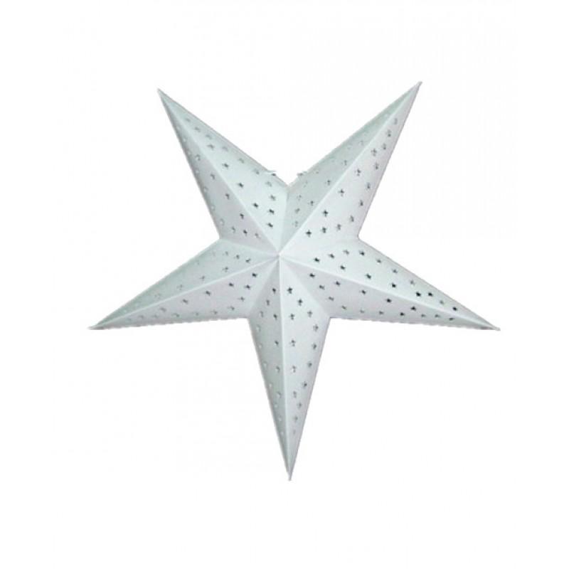 White star paper lantern quot