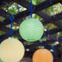 Summer Party ideas with our lanterns