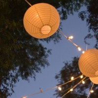 Our lanterns can be lit to make a spectacular evening
