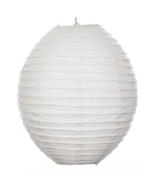 """12"""" Paper Lantern Kawaii White Lantern"""