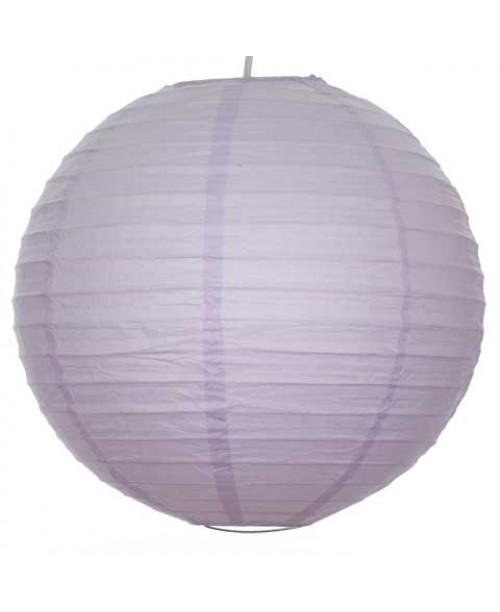 """16"""" Paper Lantern Lavender Regular Wire"""