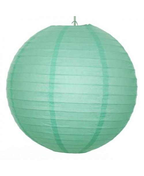 """12"""" Paper Lantern Mint Regular Wire"""