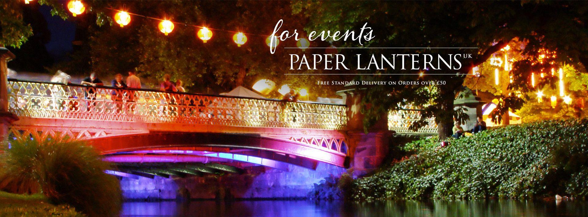 Paper Lanterns for events and weddings - Paper Lanterns UK