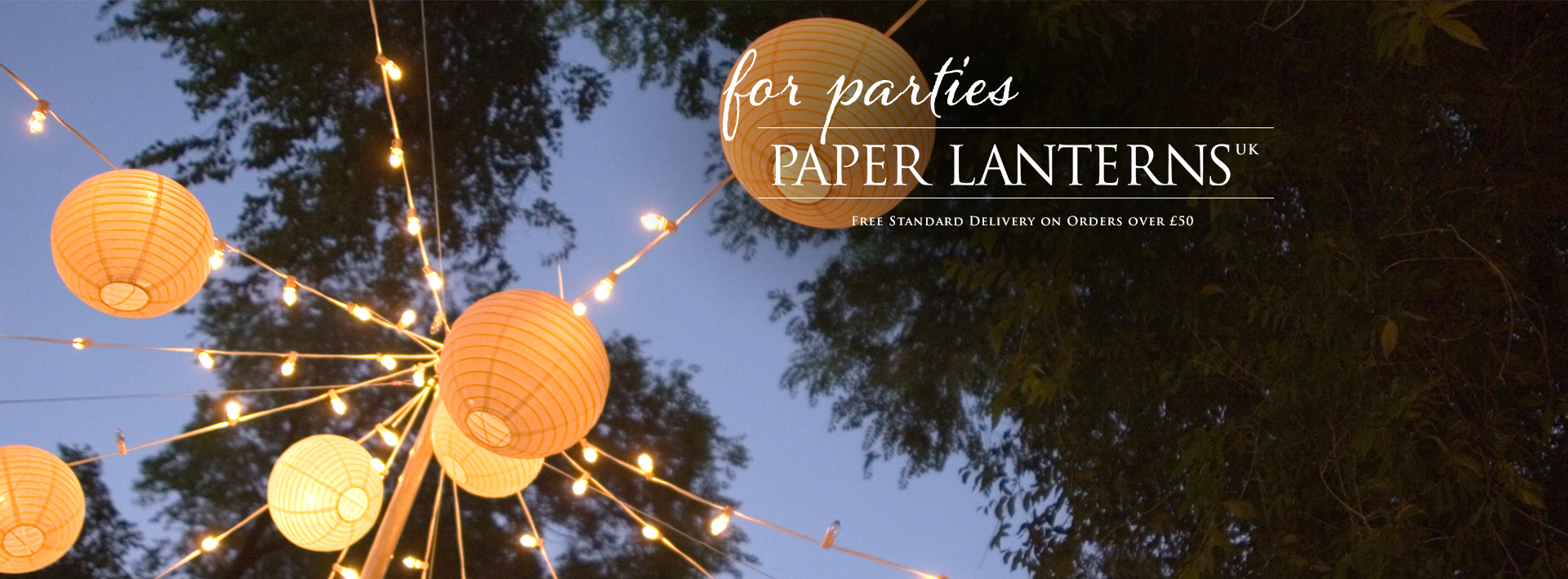 Paper Lanterns for parties